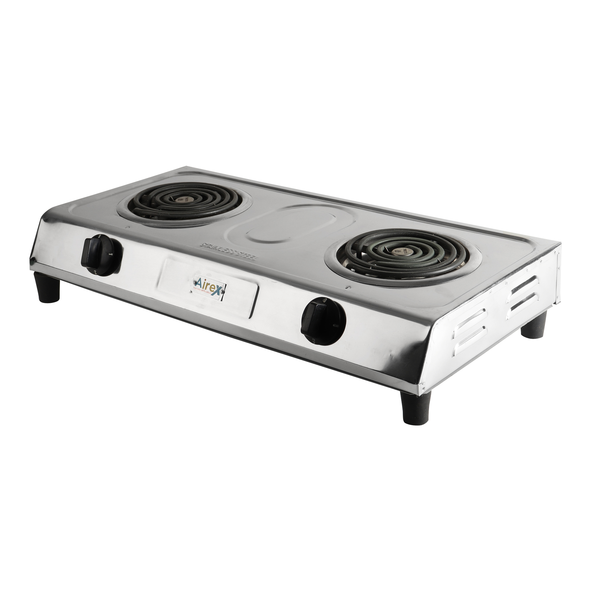 DOUBLE HOTPLATE STAINLESS STEEL