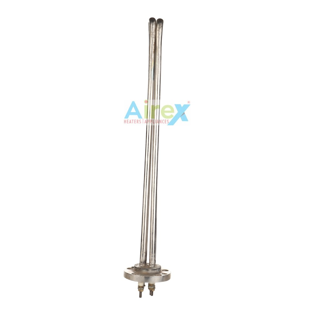 IMMERSION HEATER FLENDGE TYPE DOUBLE ROD